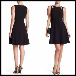 TAHARI A-line Fit-and-Flare Dress, Size 4